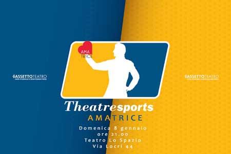 Theatresports per Amatrice, lo spettacolo asta al Teatro Lo Spazio di Roma