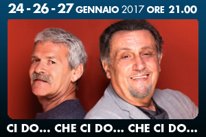 Ci do… che ci do… che ci do…, lo spettacolo al teatro Golden di Roma