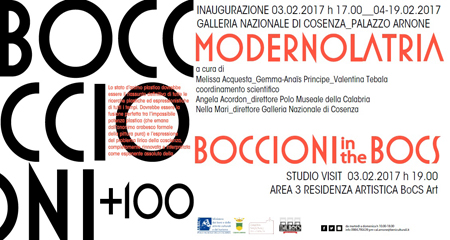 Boccioni+100, Modernolatri, la mostra a la Galleria Nazionale di Cosenza