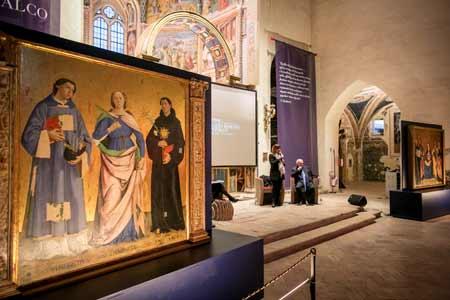 Antoniazzo Romano e Montefalco, la mostra al Complesso museale di San Francesco a Montefalco