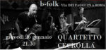Quartetto Cecrolla in concerto al B-Folk