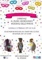 L'Arte in maschera: Carnevale al Museo Archeologico Nazionale delle Marche