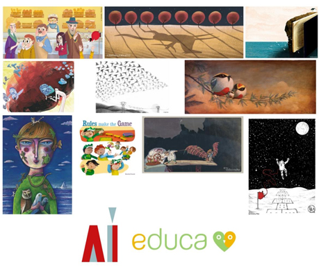 Educa lancia la seconda edizione del concorso rivolto agli illustratori
