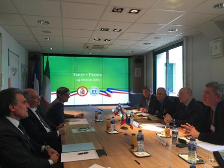 Firma Dichiarazione Congiunta Capo Polizia Gabrielli e omologo Francese