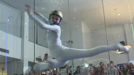 Ballare e volare nella Galleria del Vento