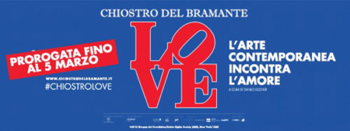 Love. L'arte contemporanea incontra l'Amore al Chiostro del Bramante