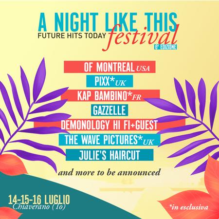 A Night Like This Festival torna a Chiaverano