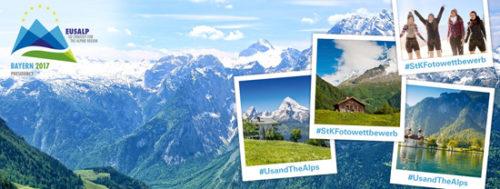 Eusalp lancia #usandthealps, concorso fotografico su Facebook, Twitter e Instagram