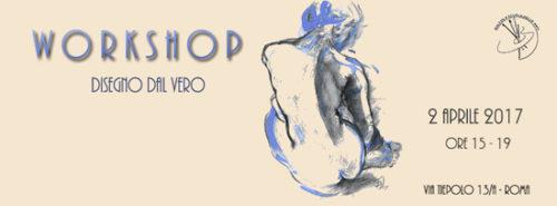 Workshop per artisti e dilettanti di Disegno dal vero con modella