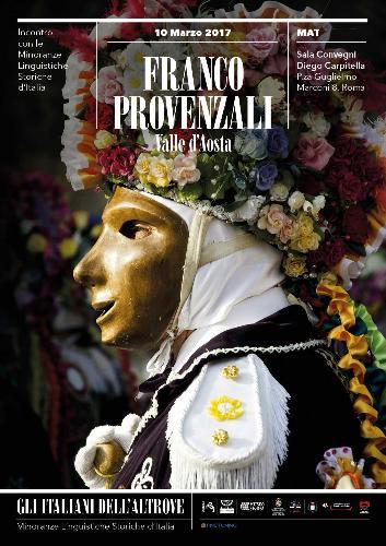 Gli Italiani dell'Altrove: Francoprovenzali – Valle d'Aosta