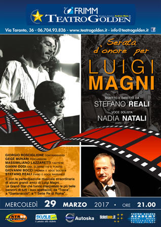 Gigi Magni, una serata dedicata a lui