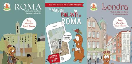 La mappa parlante e Tapsy interactive travel guides