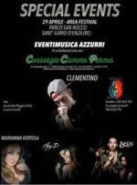 Clementino in concerto a S. Ilario D'Enza. Ad aprire la serata Miky D e il rapper Luchè