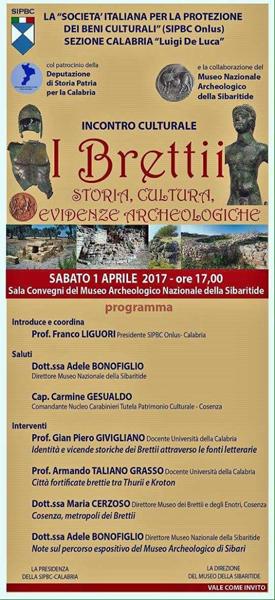I Bretti, storia, cultura, evidenze archeologiche al Museo Nazionale Archeologico della Sibartide