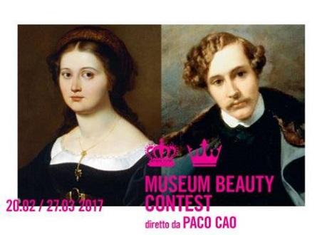 Museum Beauty Contest diretto da Paco Cao. La mostra dei ritratti