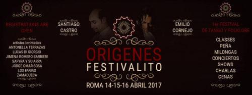 Origenes Festivalito, il Primo Festivalito di Folklore e Tango a Roma