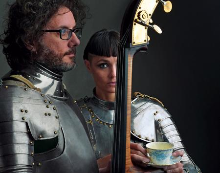 Petra Magoni e Ferruccio Spinetti in concerto all'Auditorium Parco della Musica di Roma