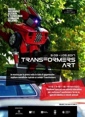 TRANSFORMERS ART. In mostra per la prima volta in Italia i giganteschi robot dell'artista Danilo Baletic costruiti con rottami di auto e camion
