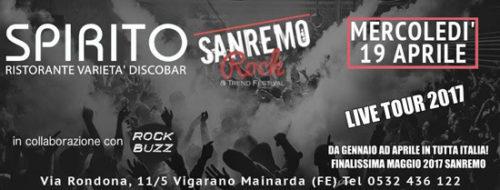 Sanremo Rock 2017, 30^ edizione dello storico contest per emergenti