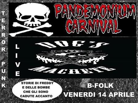 Rock Horror Circus Night al B-Folk