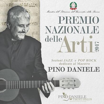 """""""Premio Nazionale delle Arti"""", dedicato per la prima volta a Pino Daniele"""