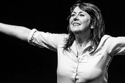 Emanuela Grimalda in Le Difettose al Brancaccino