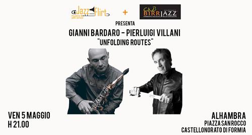 """Gianni Bardaro e Pierluigi Villani """"Unfolding Routes"""" Trio"""