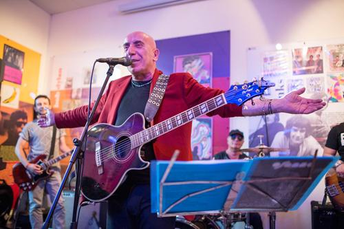 Gli Osanna e di Gianni Leone al Museo del Rock di Catanzaro performance straordinaria