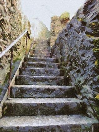 Ho sceso un milione di scale