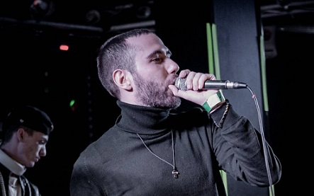 Il rapper PELIGRO in concerto al Tunnel Club di Milano