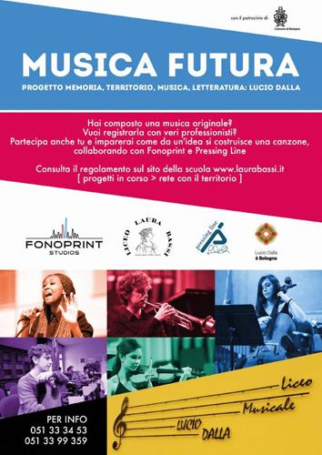 Musica Futura – progetto memoria, territorio, musica, letteratura: Lucio Dalla – 1^ edizione