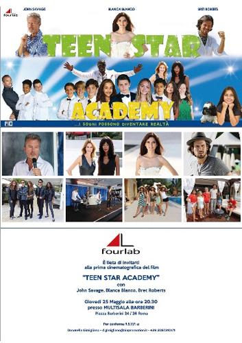 Teen Star Academy con John Savage, Blanca Blanco e Bret Roberts approda al cinema