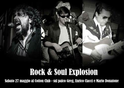 Rock & Soul Explosion live al Cotton Club