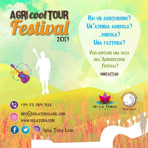 AGRI cool TOUR Festival 2017… e vinci lavoro