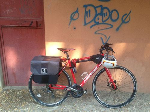 CicloNico: Nico & le Cicloavventure, viaggio cicloartistico nel Belpaese