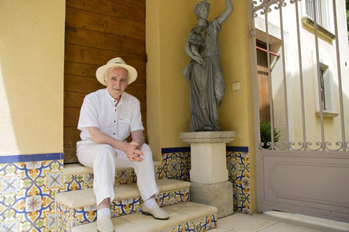 Charles Aznavour in concerto al Cavea Auditorium Parco della Musica di Roma