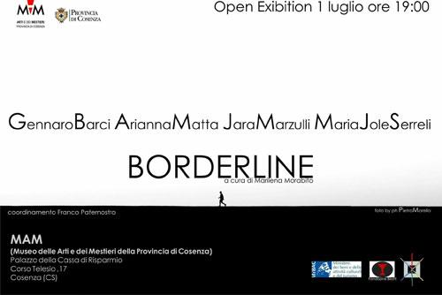 Borderline. Collettiva di arte contemporanea al MAM di Cosenza