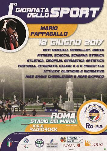 Giornata dello Sport intitolata a Mario Pappagallo