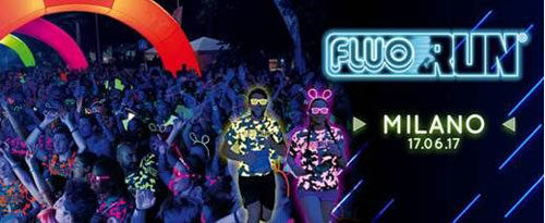 Milano si tinge di Fluo con la V edizione della Fluo Run®