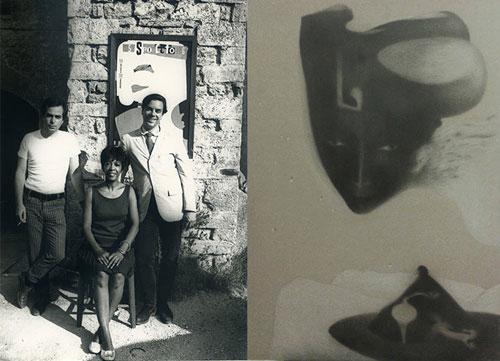 Oro Puro, a Spoleto le opere di Paolo Liberati in omaggio a Ellen Stewart e Giuseppe Bartolucci