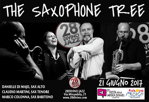 Festa Musica Roma 2017, The Saxophone Tree