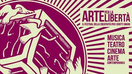 """""""Arte per la libertà"""": fino a settembre il festival della creatività per i diritti umani sul delta del Po"""