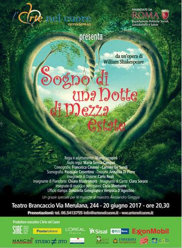 Sogno di una notte di mezza estate, lo spettacolo in scena al Teatro Brancaccio di Roma