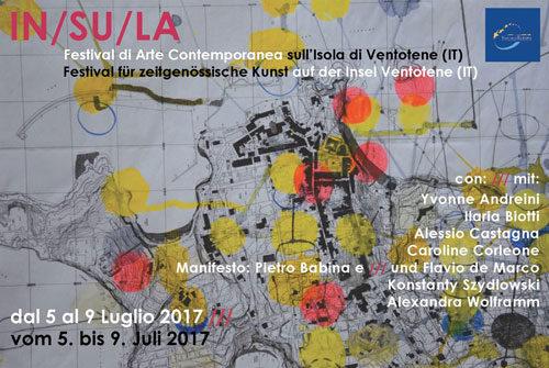 IN/SU/LA. Il primo festival di Arte contemporanea di Ventotene, l'isola dov'è nata l'Europa