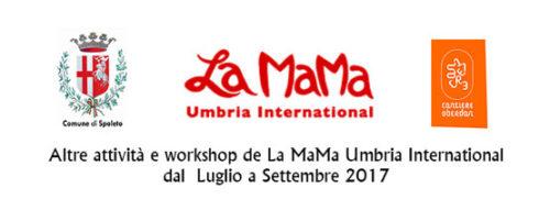 La Mama Umbria Int. presenta Ri-Generazioni e Simposio per registi
