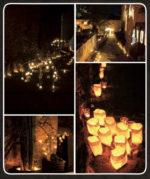 NIT D'ESPELMES: in Costa Brava la II Notte delle Candele gemellata con Vallerano