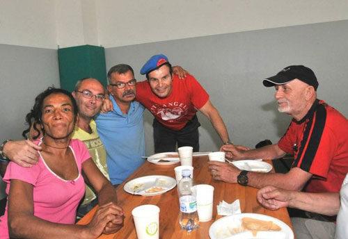 City Angels, ferragosto solidale con i clochard e i migranti