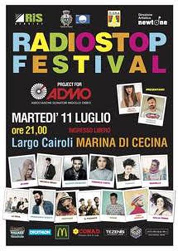 Radio Stop Festival per ADMO