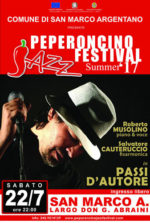 A San Marco Argentano arriva il Peperoncino Jazz Festival