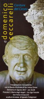 Ignazio Colagrossi, monumento a Domenico Ceccarelli